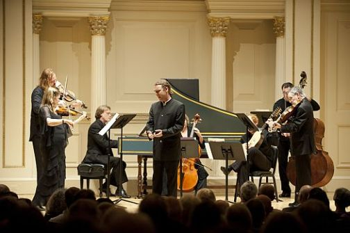 photo of DT with TEM at Carnegie Hall